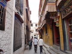Лхаса старые кварталы