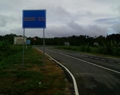 по дороге  Парамарибо