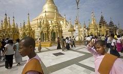 Бирма, храм