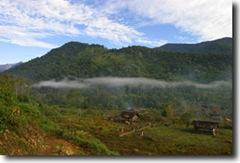 Деревня в Бирме