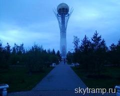 Казахстан, Астана. Байтерек