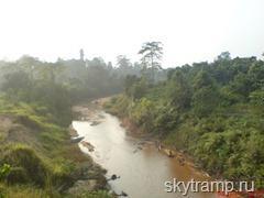 Река и вид в километре от центра