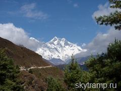 Way to Tengboche